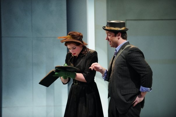 Layla Claire and Nathan Bachhuber in Mozart's Don Giovanni - Curtis Opera Theatre - 2008