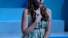As Fiordiligi in Mozart's Così fan tutte - Tanglewood Music Center - 2007