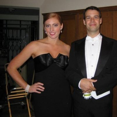 With Tenor Szabolcs Brickner following a performance with La Petite Bande