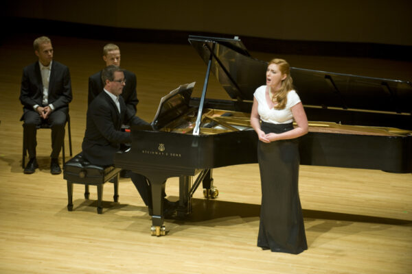 Recital with Ravinia President Welz Kauffman at the piano